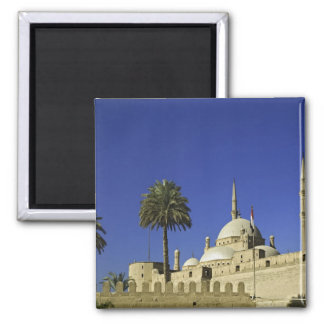 The Mosque of Muhammad Ali at the Citadel, also 2 2 Inch Square Magnet