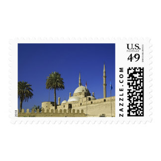 The Mosque of Muhammad Ali at the Citadel, also 2 Postage Stamp