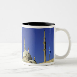 The Mosque of Muhammad Ali at the Citadel, also 2 Two-Tone Coffee Mug