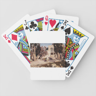 The Mosque of Omar. Haram el-Sharif. by Vasily Bicycle Playing Cards