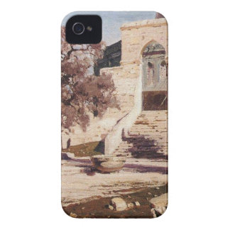 The Mosque of Omar. Haram el-Sharif. by Vasily iPhone 4 Covers