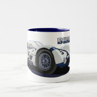 The Moss - Gurney Birdcage Two-Tone Coffee Mug