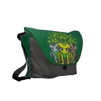 The Moss People Messenger Bag