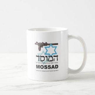 The Mossad Classic White Coffee Mug