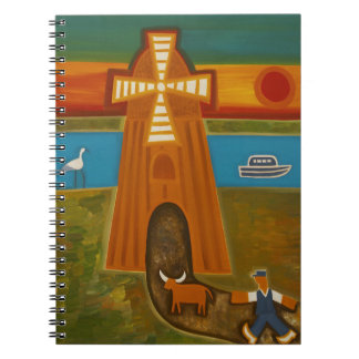 The Most Beautiful Sunset 2006 Spiral Notebook