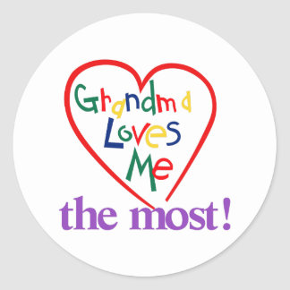 The Most! Classic Round Sticker