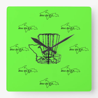 The most disc golf and U.P. clock there is