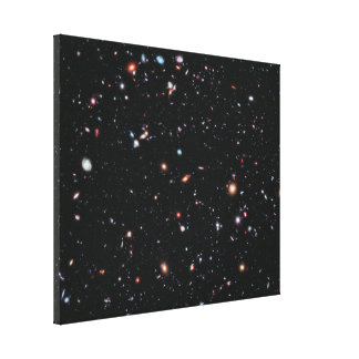The Most Distant Galaxies - A Decade Of Hubble Canvas Print