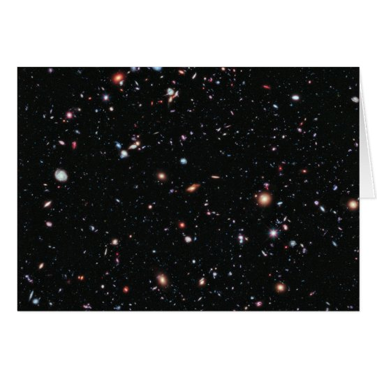 The Most Distant Galaxies - A Decade Of Hubble Card
