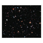 The Most Distant Galaxies - A Decade Of Hubble Posters