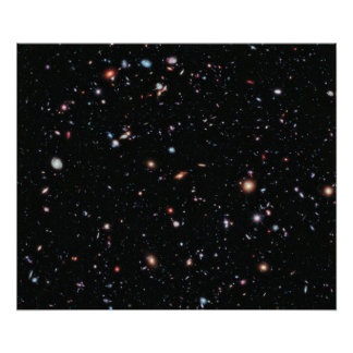 The Most Distant Galaxies - A Decade Of Hubble Poster