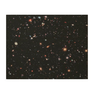 The Most Distant Galaxies - A Decade Of Hubble Wood Wall Decor