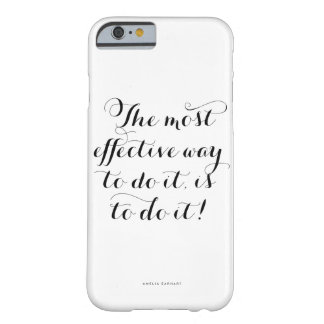 The Most Effective Way to Do It // Amelia Earhart Barely There iPhone 6 Case