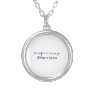 The most effective way to remember your wifes bday custom necklace