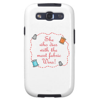 The Most Fabric Galaxy S3 Case