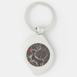 The Most Famous Reindeer Keychain