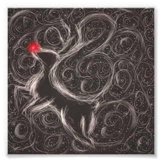 The Most Famous Reindeer Photo Print