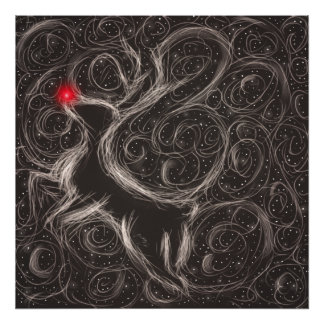 The Most Famous Reindeer Poster