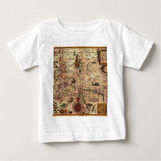 the most important hictoric Southeast Asia Map Baby T-Shirt