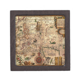 the most important hictoric Southeast Asia Map Gift Box