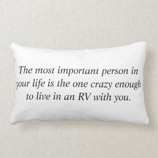 The Most Important Person Lumbar Pillow