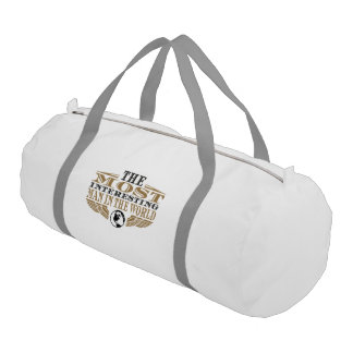 The Most Interesting Man in the World Duffle Bag