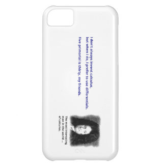 The most interesting man in the world of calculus iPhone 5C case