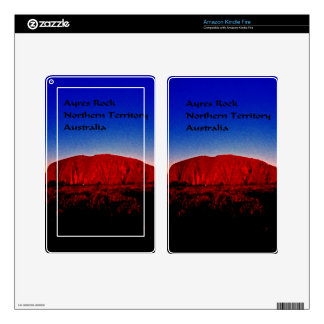 The most sacred monolith in Australian outback Kindle Fire Decals