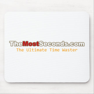 The Most Seconds Mouse Pad