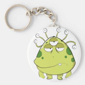 The Most Ugly Alien Ever Keychain