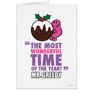The Most Wonderful Time Greeting Cards