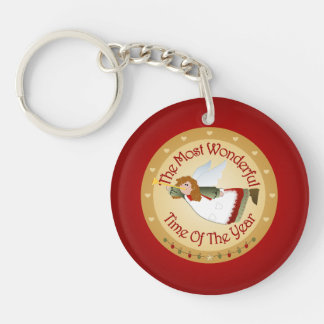 The Most Wonderful Time Keychain