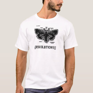 the moth (black) [2253014] T-Shirt