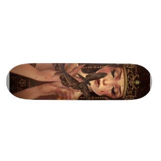 The Moth Eater Custom Skateboard