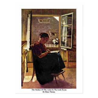 The Mother Of The Artist In The Little Room Postcard