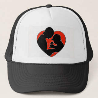 The Mother, the with a Heart. Trucker Hat