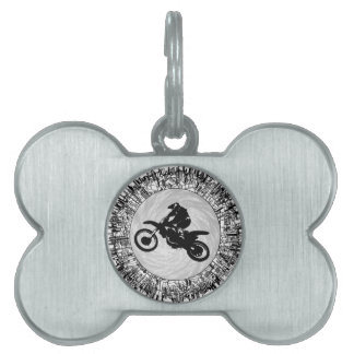THE MOTOCROSS EFFECT PET NAME TAGS