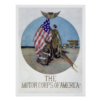 The Motor Corps of America (US02075) Posters