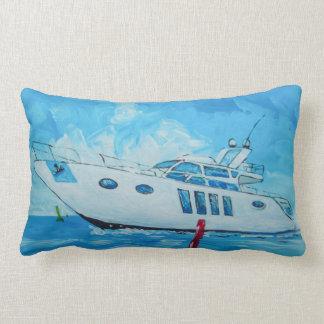 The Motorboat Lumbar Pillow