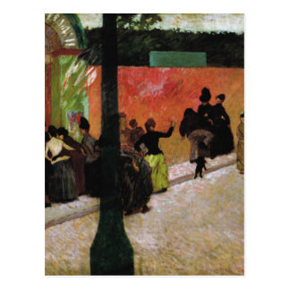 The Moulin de la Galette by Federico Zandomeneghi Postcard