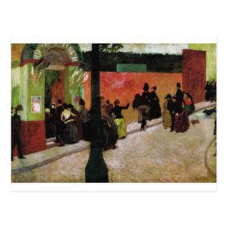 The Moulin de la Galette by Federico Zandomeneghi Postcard