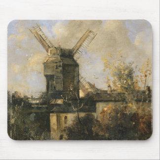 The Moulin de la Galette, Montmartre, 1861 Mouse Pad