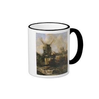 The Moulin de la Galette, Montmartre, 1861 Ringer Mug