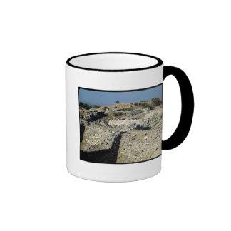 The Mound of Hissarlik, the site of Ringer Coffee Mug