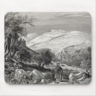 The Mount of Olives, from Mount Zion Mouse Pad