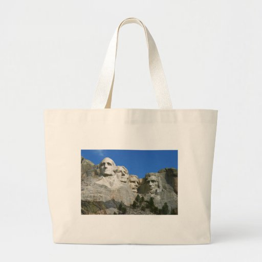 The Mount Rushmore Presidential Monument Jumbo Tote Bag