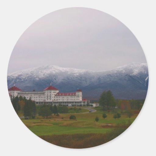 The Mount Washington Hotel Round Sticker
