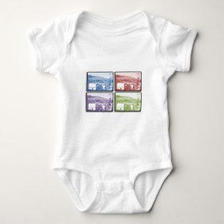 The Mountain - 4 Frames Baby Bodysuit