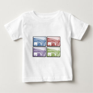 The Mountain - 4 Frames Infant T-shirt