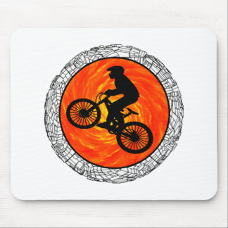 THE MOUNTAIN BIKERS MOUSE PAD